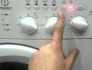 Как перезагрузить стиральную машину Индезит