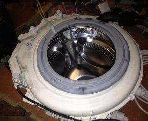 Как поставить барабан стиральной машины Индезит?