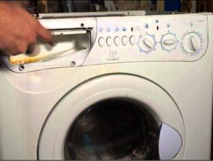 Как снять панель управления на стиральной машине Индезит?