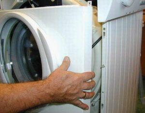 Как снять переднюю панель стиральной машины Индезит?