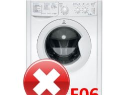 Ошибка F06 на стиральной машине Indesit
