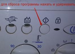 Сбилась программа на стиральной машине Индезит