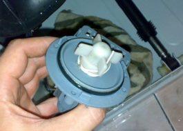 Чистка насоса стиральной машины Индезит