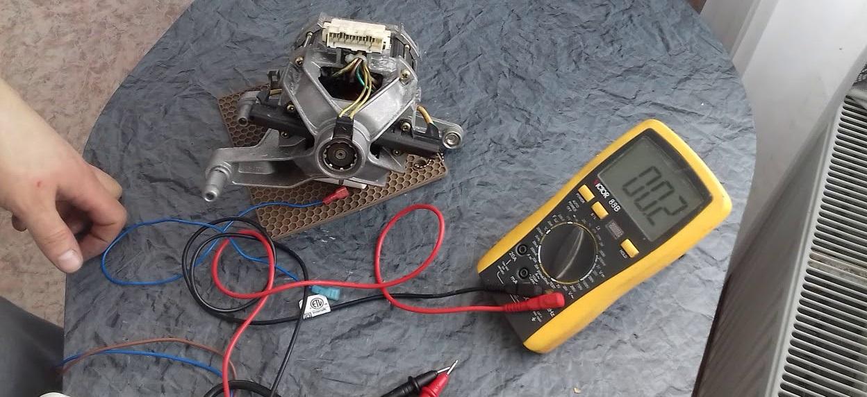 проверяем двигатель мультиметром
