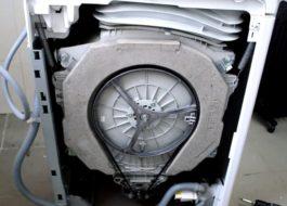 Как разобрать стиральную машину Индезит с вертикальной загрузкой?