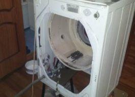 Как собрать стиральную машину Индезит?