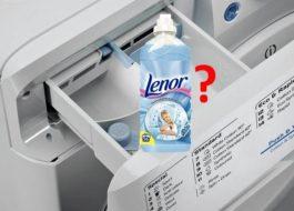 Куда заливать кондиционер в стиральной машине Индезит?
