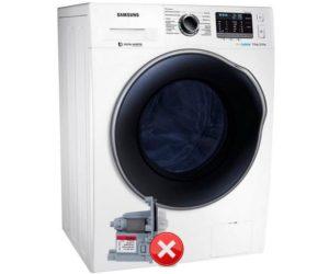 Стиральная машина Samsung не сливает воду
