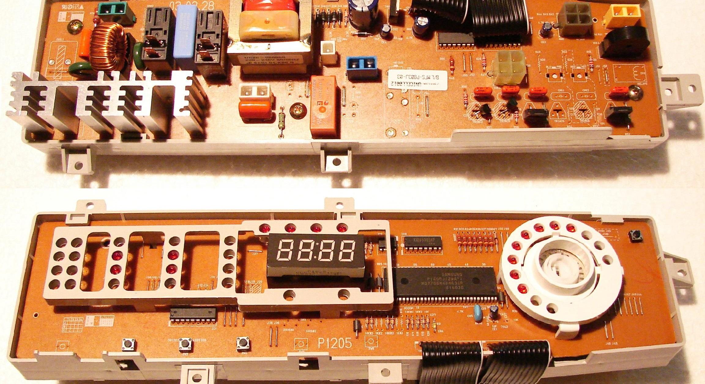 модулю управления нужен ремонт
