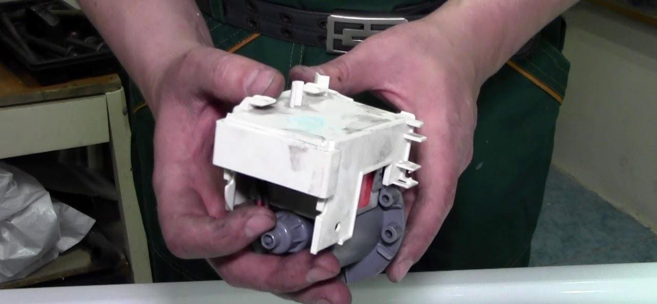 проверка и замена насоса стиральной машины Самсунг