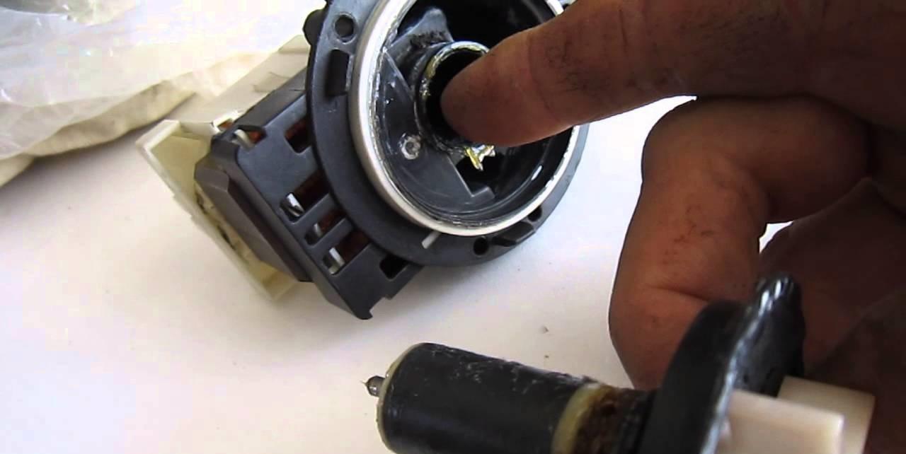 ремонт помпы Самсунг своими руками