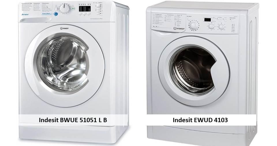 Indesit BWUE 51051 L B Indesit IWUD 4105