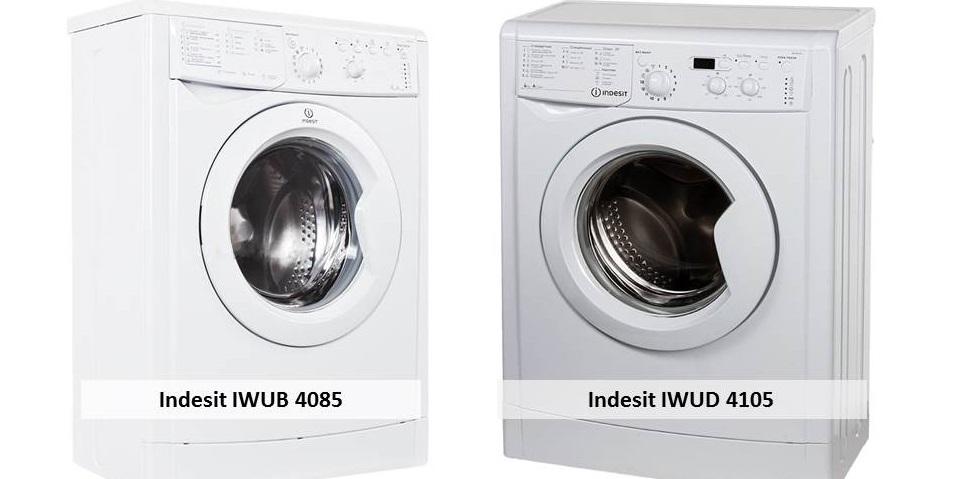 Indesit IWUD 4105 Indesit IWUB 4085
