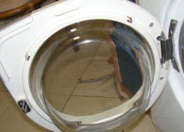 Как снять дверцу стиральной машины?
