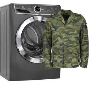 Стирка военной формы в стиральной машине