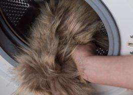Стирка искусственного меха в стиральной машине