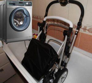 Стирка коляски в стиральной машине