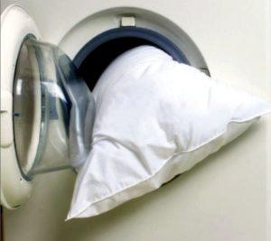 Стирка ортопедической подушки в стиральной машине
