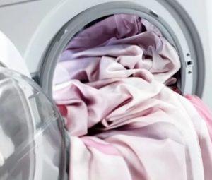 Стирка скатерти в стиральной машине