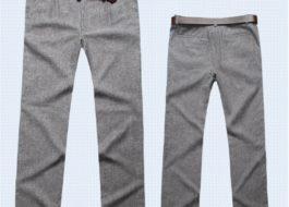 Что делать, если брюки сели после стирки?