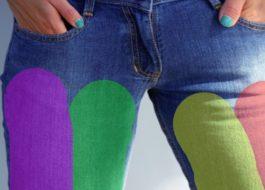 Что делать, если джинсы покрасились при стирке?
