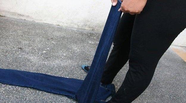 растягиваем брюки