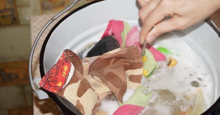 регулярное кипячение это залог чистоты полотенец
