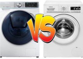 Какая стиральная машина лучше: Siemens или Samsung?