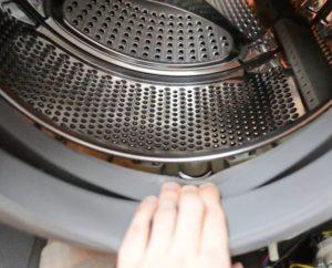 Как вытащить барабан из стиральной машины Samsung?