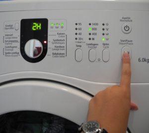 Отмена стирки в стиральной машине Samsung
