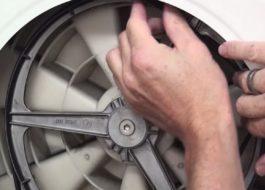 Поменять ремень на стиральной машине Ariston