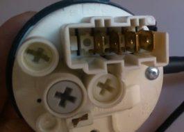 Проверка датчика уровня воды в стиральной машине Samsung