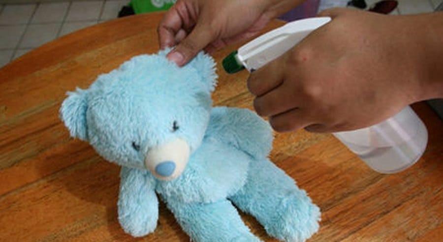 бережная чистка медведя