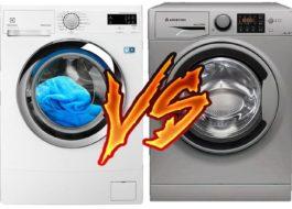 Какая стиральная машина лучше: Ariston или Electrolux?
