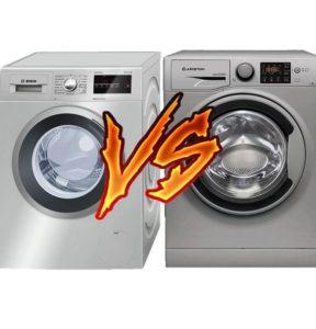 Какая стиральная машина лучше Bosch или Ariston