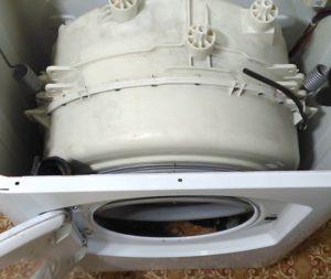 Как заменить бак в стиральной машине Аристон своими руками