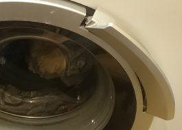 Как открыть стиральную машину Бош, если сломалась ручка?