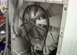 Как поменять ремень в стиральной машине Бош?