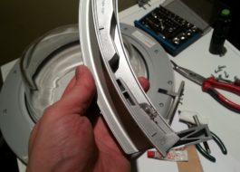 Как поменять ручку дверцы стиральной машины Бош?