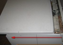 Как снять верхнюю крышку стиральной машины Аристон?