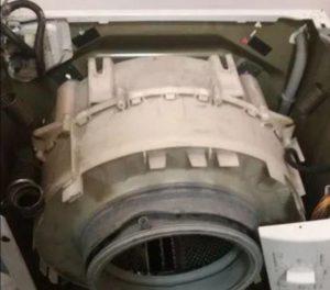 Разборка барабана стиральной машины Бош