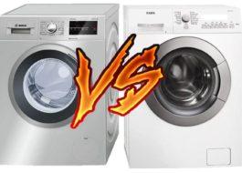 Что лучше: стиральная машина Бош или АЕГ?