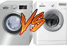 Что лучше: стиральная машина Бош или Вирпул?