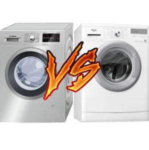 Что лучше стиральная машина Бош или Вирпул