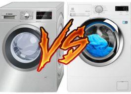 Что лучше: стиральная машина Бош или Электролюкс?