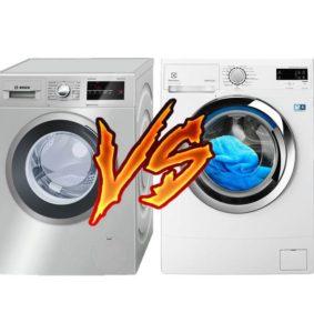 Что лучше стиральная машина Бош или Электролюкс