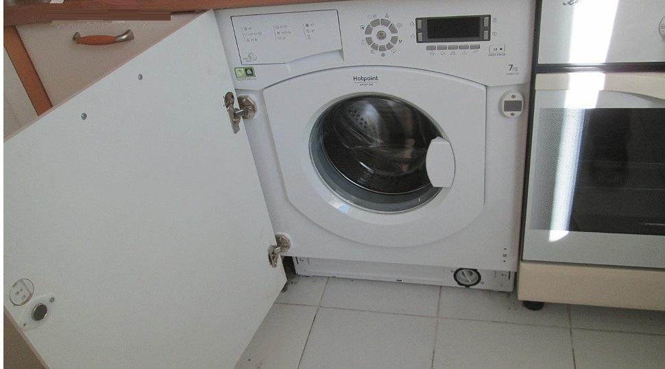 найдите место под стиральную машину