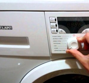 Как пользоваться стиральной машиной Атлант?