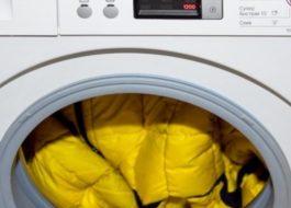 Как постирать куртку из тинсулейта в стиральной машине?