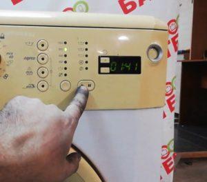 Как сбросить программу стиральной машины Беко?